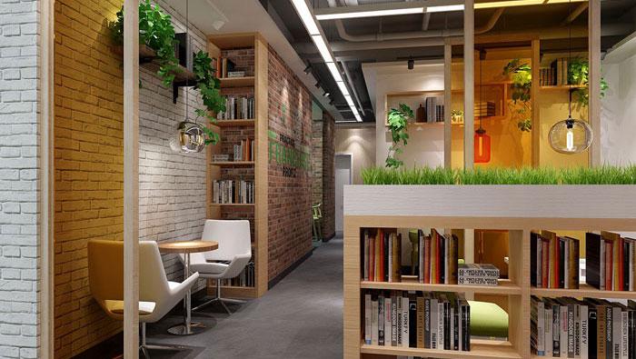 640平方中型办公室装修设计案例