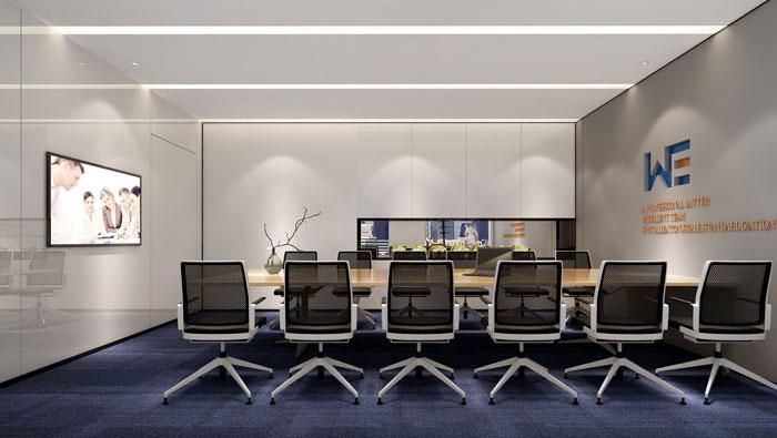 510平方中型创意办公室装修设计案例