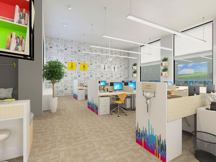 350平方APP设计公司办公室软