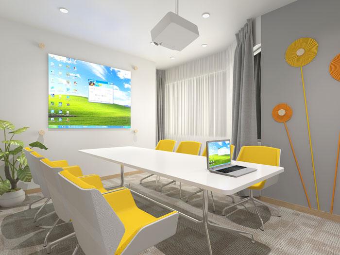 420平方装修公司办公室会议'软装设计效果图