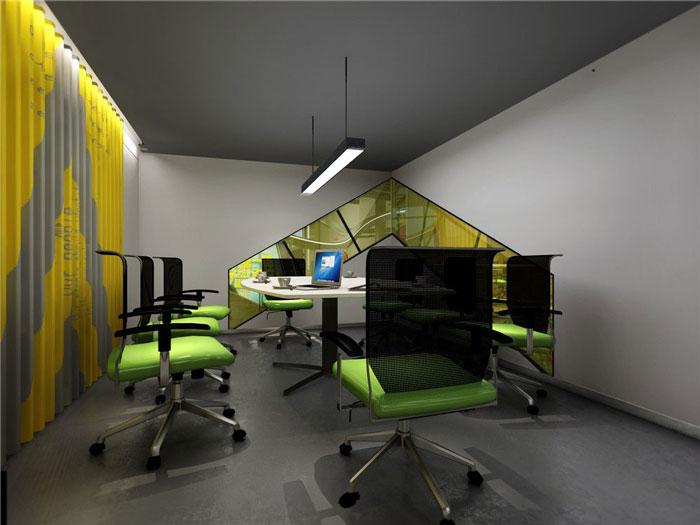 1450平方辦公室會議室軟裝設計方案效果圖