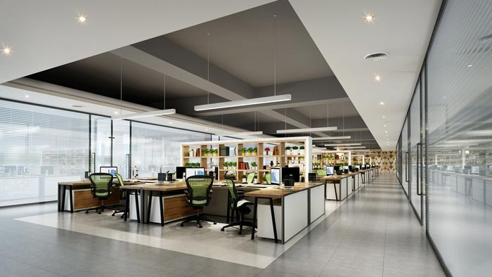 办公空间装修设计效果图