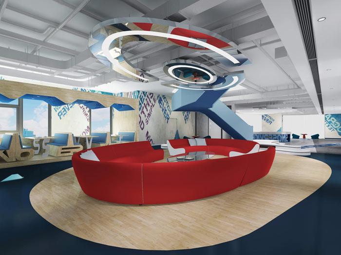 信息科技公司办公室软装设计方案