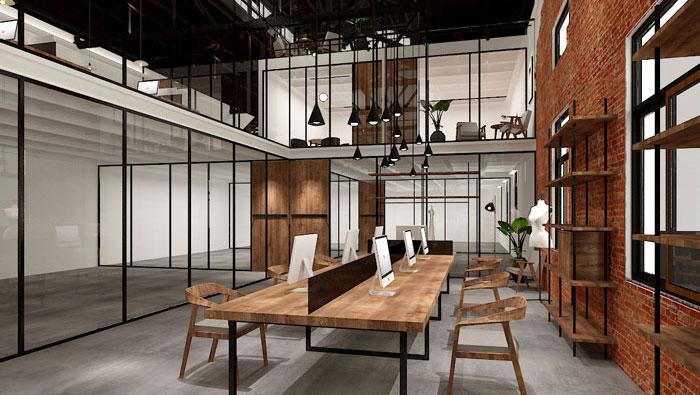 厂房办公区域装修设计案例
