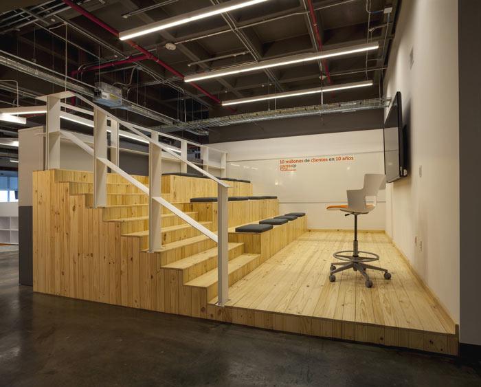 1450平方工业风办公室会议室装修设计案例效果图