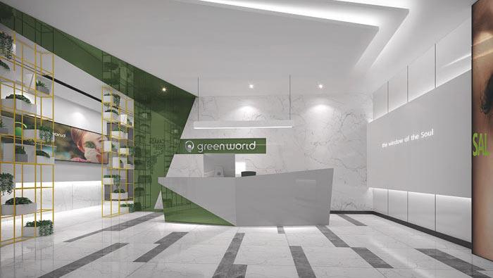 创业公司办公室装修设计案例
