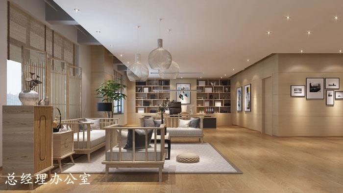 1200平方工业风办公室装修设计案例效果图 岚禾办公空间设计