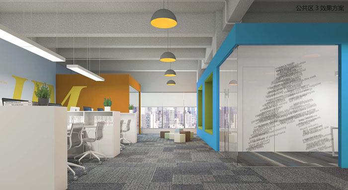 机器人科技公司办公室装修设计案例效果图 岚禾办公室设计图片