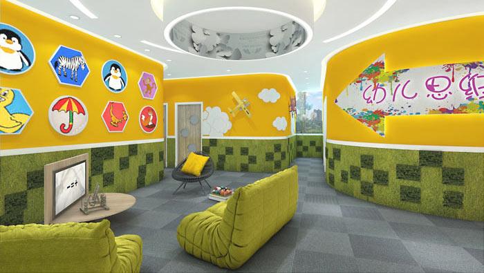 幼儿教育办公室装修设计案例