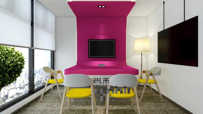 狄邦教育办公室装修设计案例