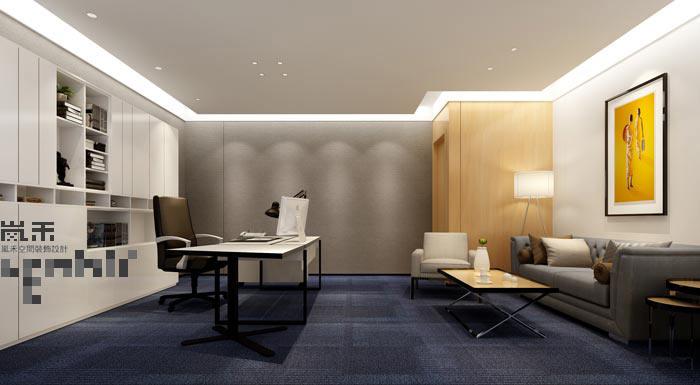 600平方律师事务所总经理办公室装修设计案例效果图