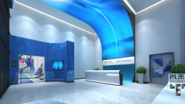 led发光二极管厂家办公室装修设计案例