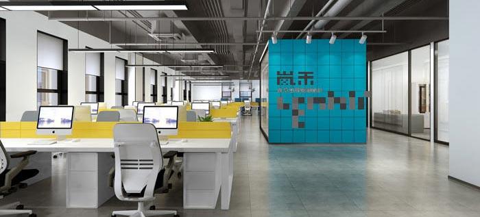 简约办公室装修设计案例