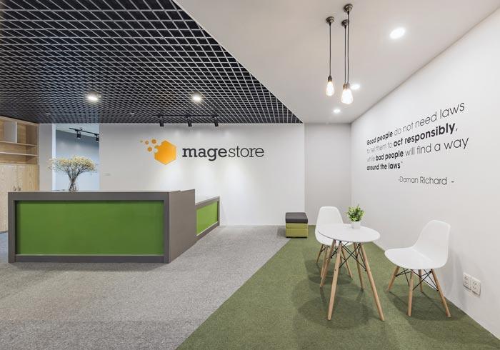 电子商务服务商办公室装修设计案例