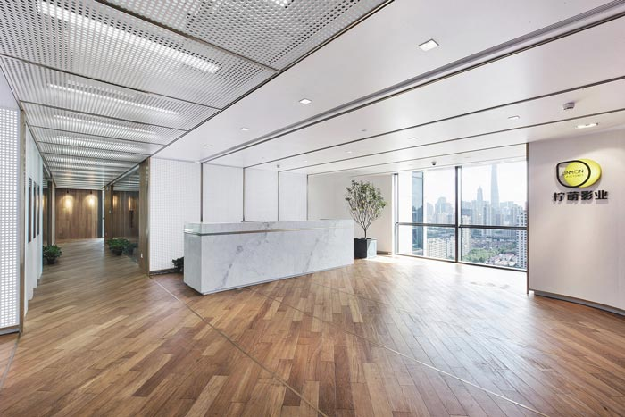 影视传媒公司办公室装修设计案例