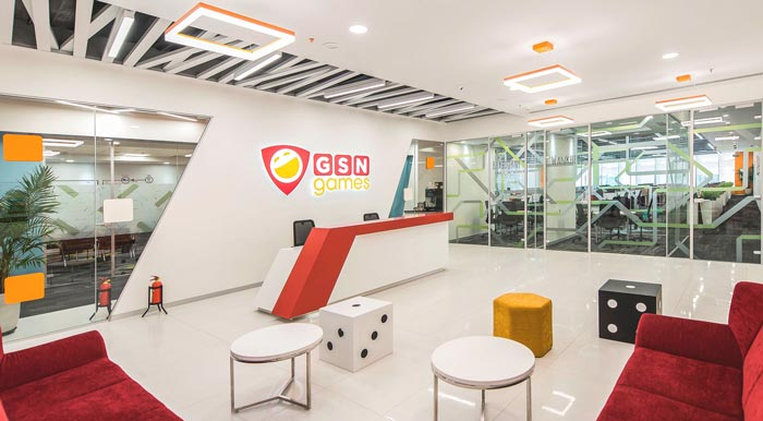 环保服装设计图_游戏公司办公室装修设计案例效果图_岚禾办公室设计