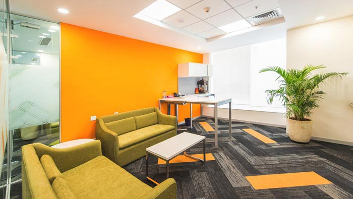 游戏公司办公室装修设计案例效果图 岚禾办公室设计