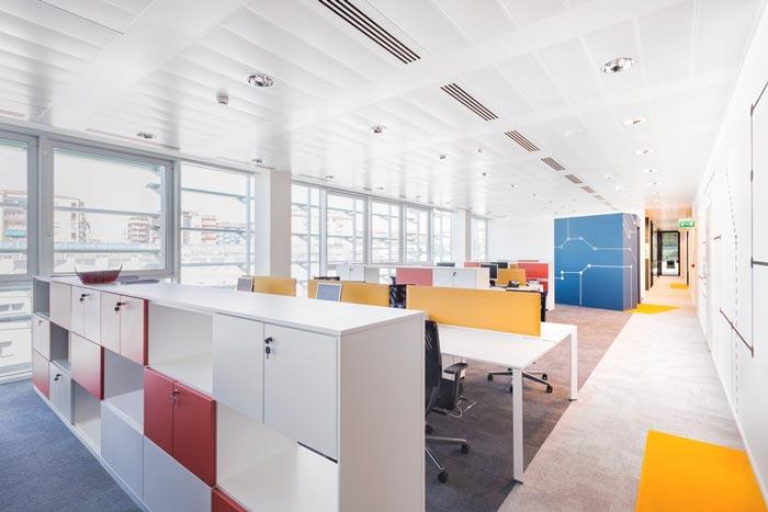 贷款服务机构办公室装修设计案例