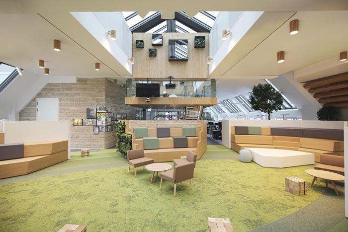 网络服务公司办公室装修设计案例