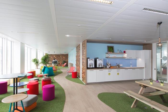 汽车租赁服务公司办公室装修设计案例
