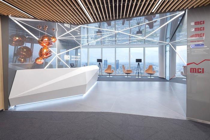 現代簡約風格辦公室裝修設計案例