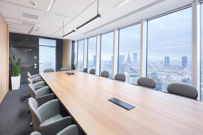 现代简约性状stylework使用室Meeting room装潢策划案例成果图