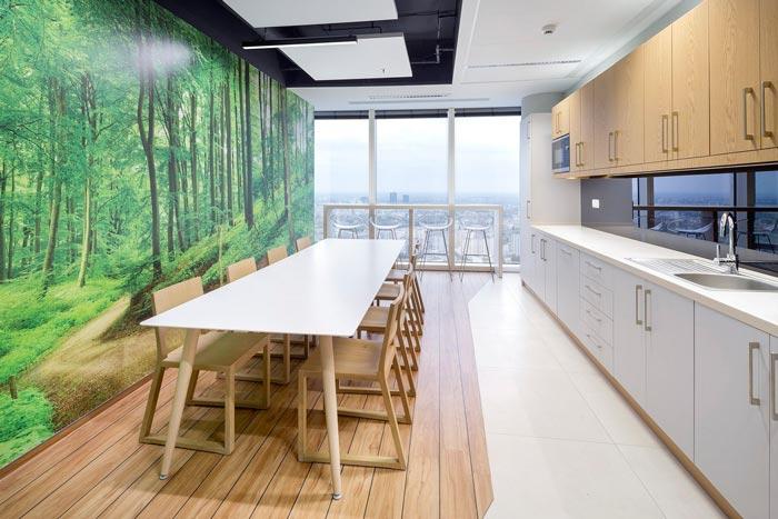 现代简约性状stylework使用室茶水间装潢策划案例成果图