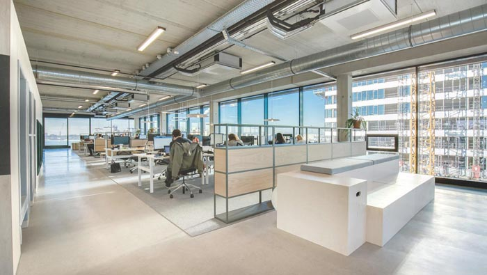 环保服装设计图_500平方广告公司办公室装修实景图_岚禾办公室实景图