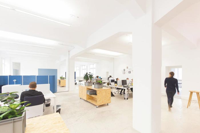 400平方营销公司办公室装修实景图