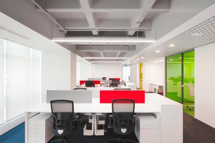 600平方公室装修设计实景图