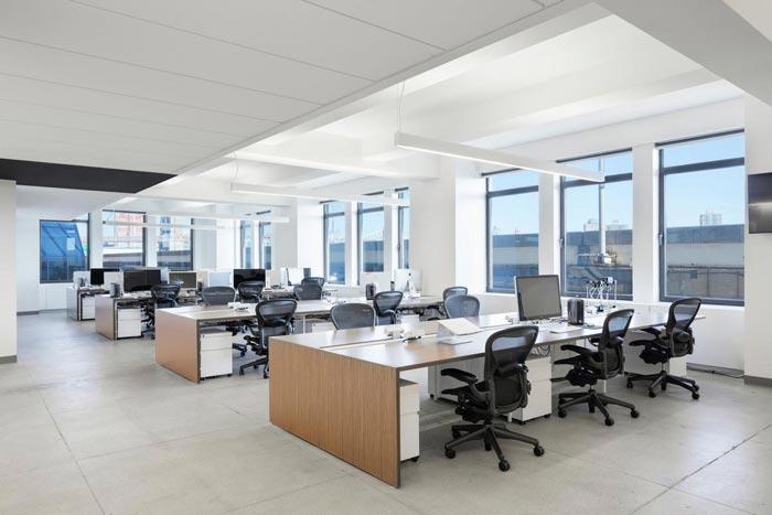广告代理公司办公室装修设计实景图