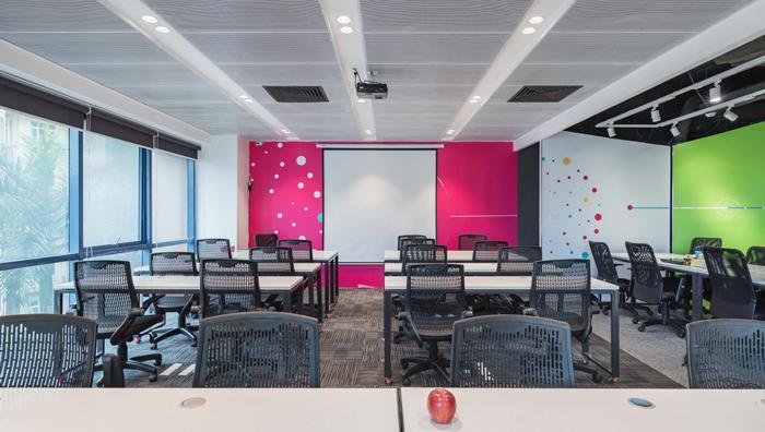 小型传媒公司办公室装修设计案例效果图 岚禾办公空间设计