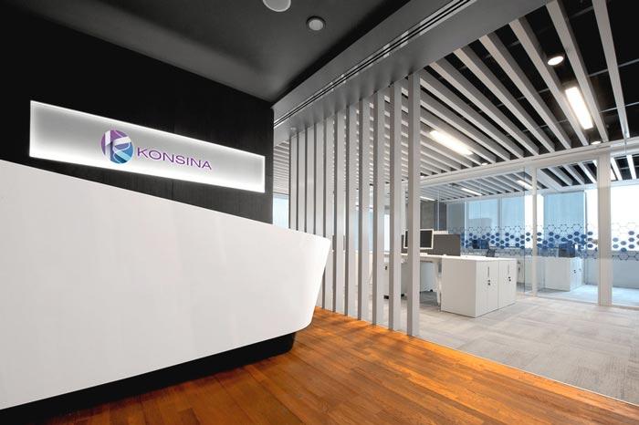 药品零售公司办公室装修设计案例