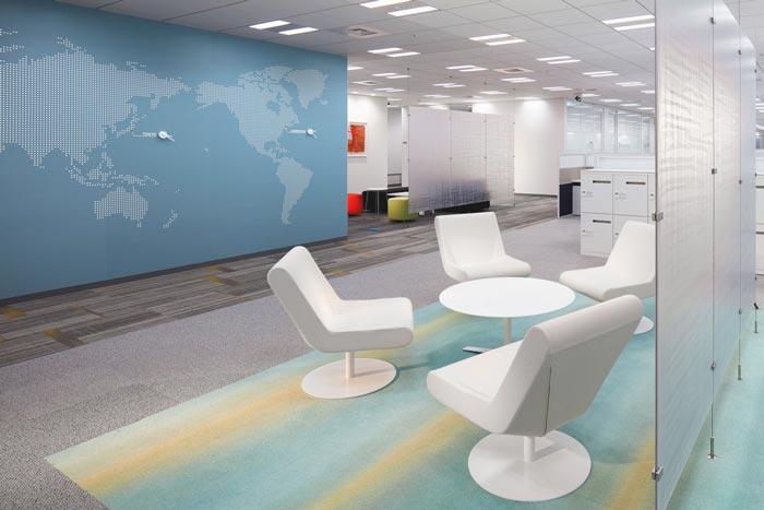 医药中心办公室装修设计案例