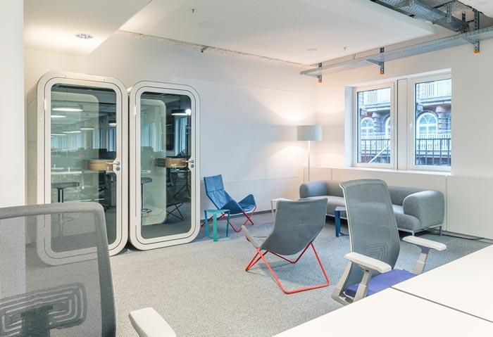 软件开发公司办公室装修设计案例