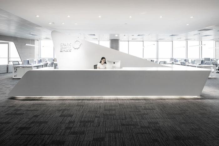 教育培训机构办公室装修设计案例