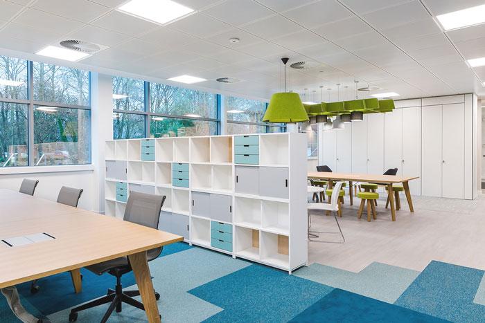 科技公司现代简约办公室装修设计案例