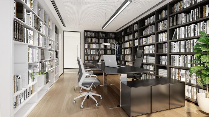 杭州事务所合伙人办公室装修效果图