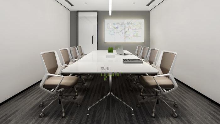 杭州事务所办公室小会议室装修效果图