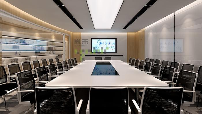 过滤器材公司办公室大会议室装修效果图