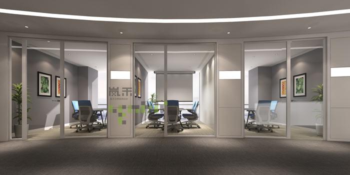 过滤器材公司办公室小会议室装修效果图