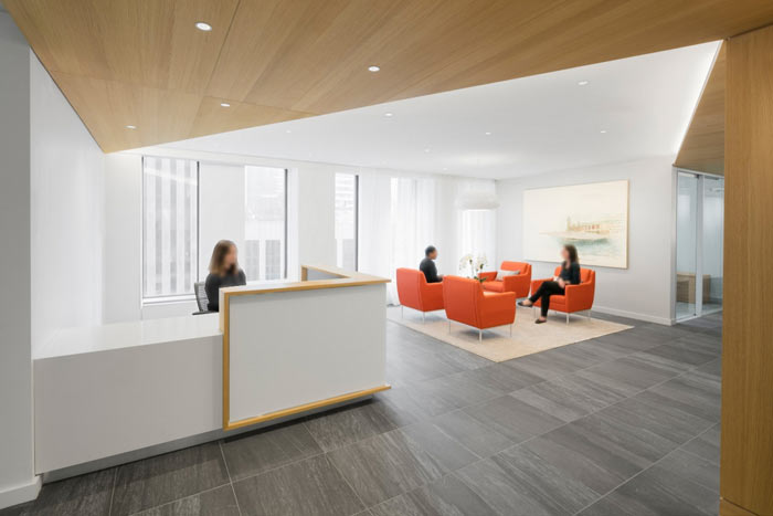 贸易公司办公室装修设计效果图