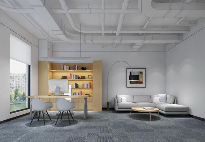 公司经理办公室装修设计效果图
