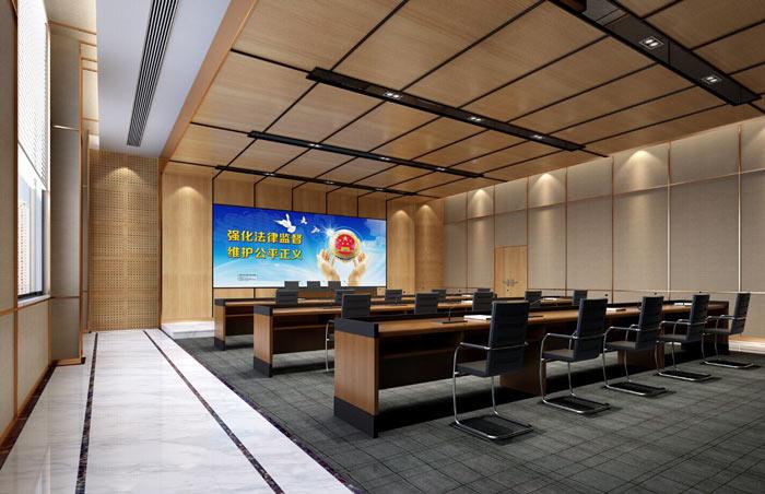 政府机关办公楼装修设计效果图