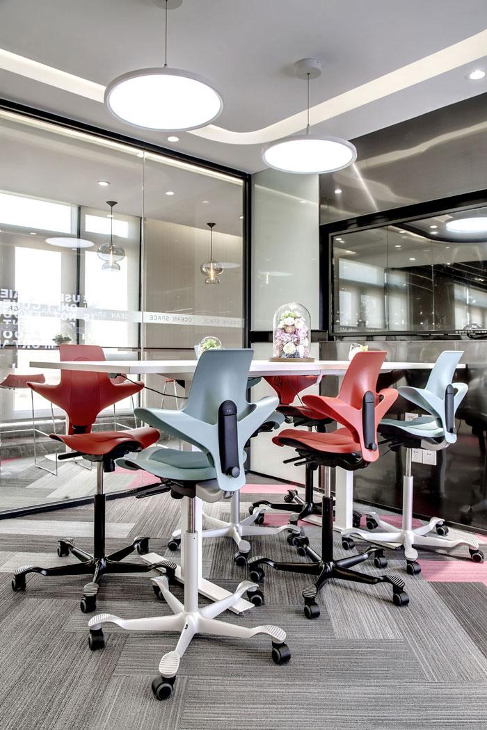 金融科技办公室洽谈室装修设计效果图