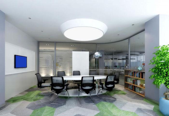 国际贸易公司办公室装修设计效果图