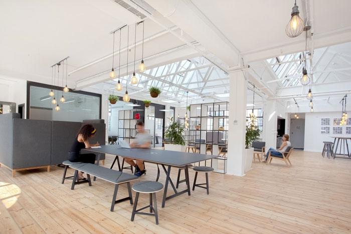 仓库办公室独立办公区装修设计效果图