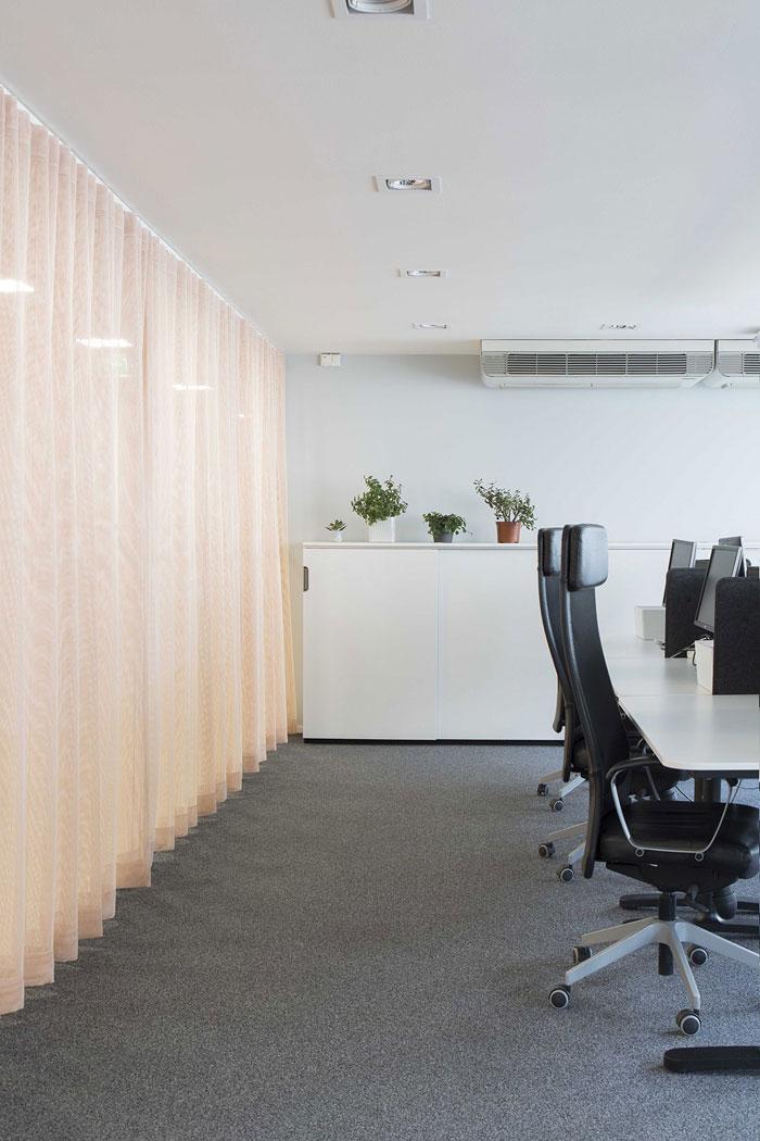 750平方办公室办公区装修设计效果图