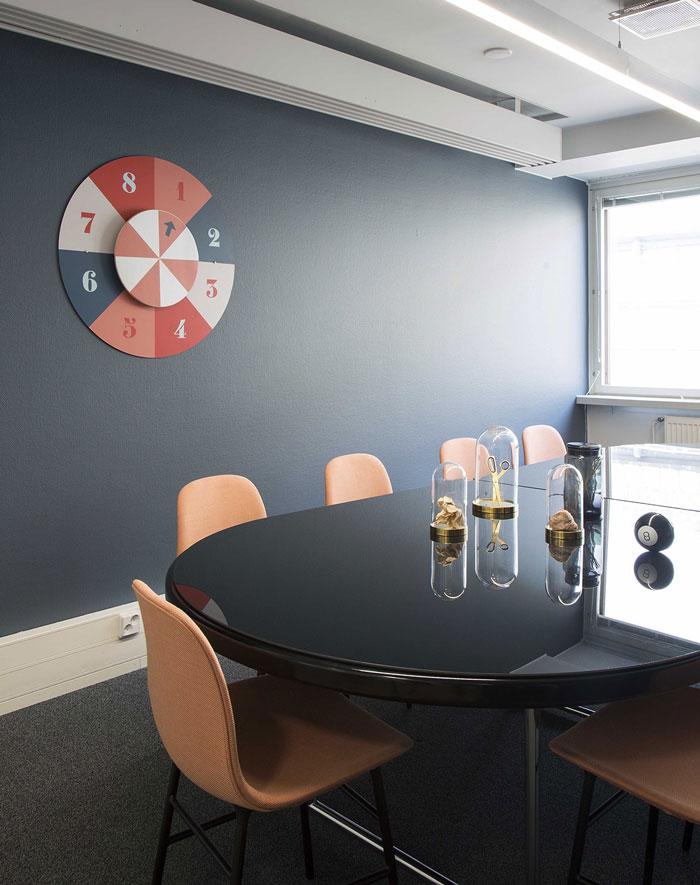750平方办公室会议室装修设计效果图