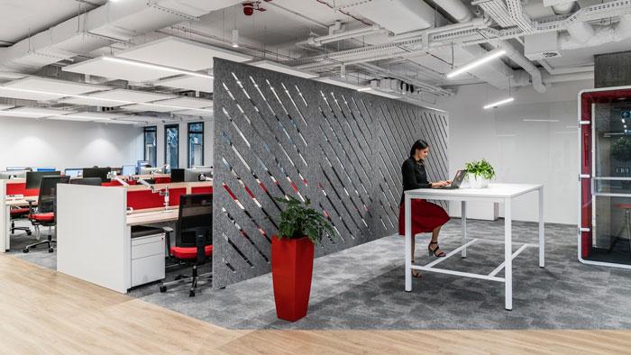 3600平方办公室私人办公区装修设计效果图
